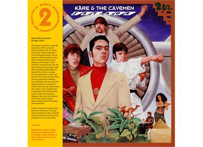 R2LP002 Round 2  Kåre & the Cavemen Jet Age (2LP)